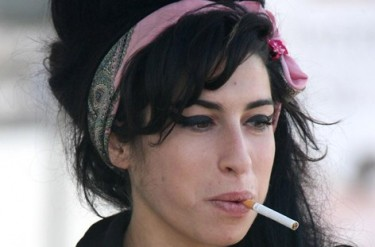 Amy Winehouse Smoking