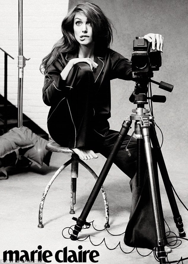 Angelina Jolie in Marie Claire