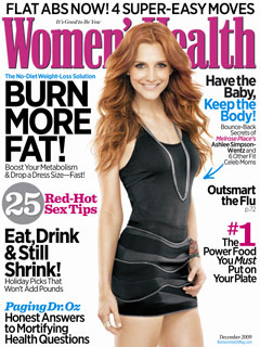 Ashlee Simspon on the cover of Women's Health