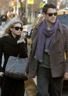 Ashley Olsen with Justin Bartha