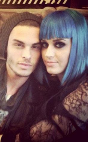 Baptiste Giabiconi and Katy Perry