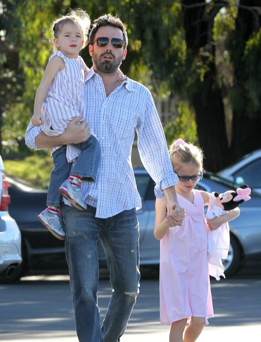 Ben Affleck and his kids
