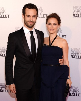 Benjamin Millipied and Natalie Portman