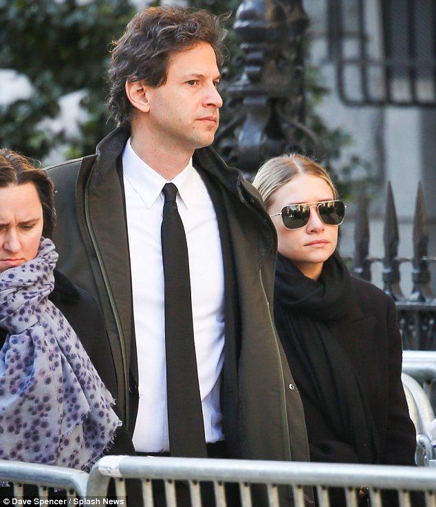 Bennett Miller and Ashley Olsen