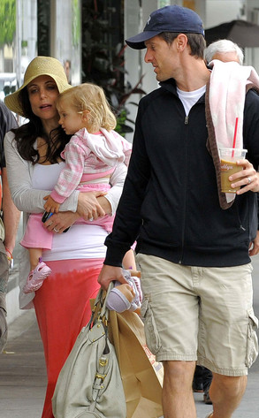 Bethenny Frankel and Jason Hoppy with their daughter