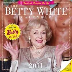 Betty White's 2011 calendar