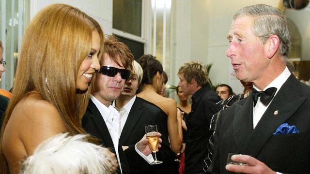 Beyonce and Prince Charles