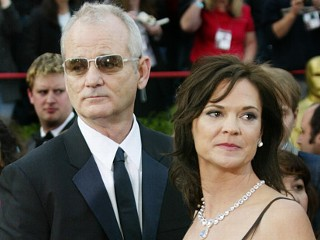 Bill Murray and ex-wife