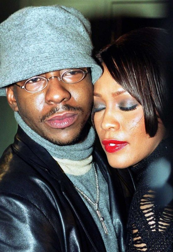 Bobby Brown and the late Whitney Houston