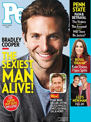 Bradley Cooper on the cover of People