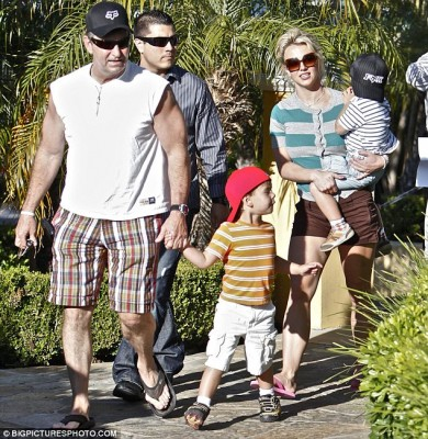Britney Spears and company