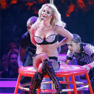 Britney Spears on tour