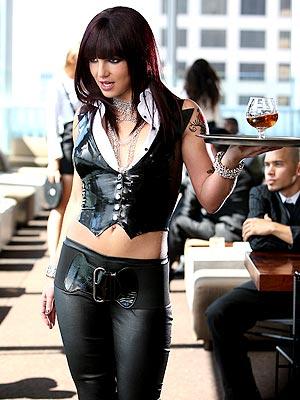 Britney Spears in Womanizer video