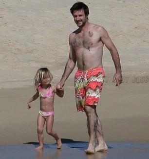 David Arquette and daughter Coco