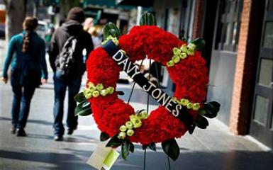 Davy Jones' funeral