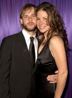 Evangeline Lilly and her boyfriend Dominic Monaghan