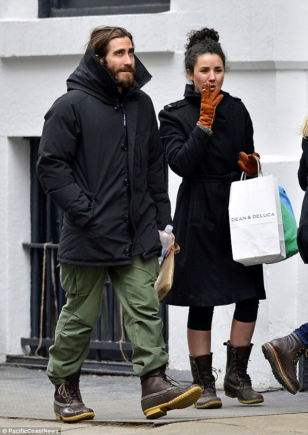 Jake Gyllenhaal and his mystery woman