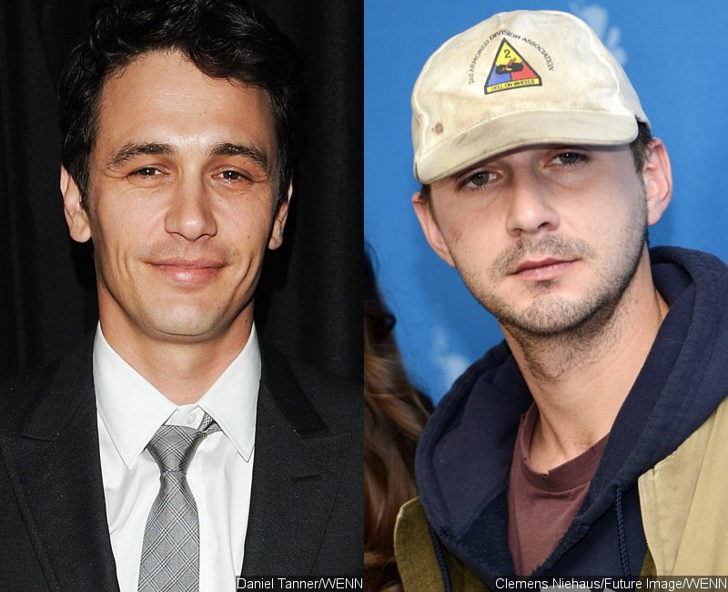 James Franco and Shia LaBeouf