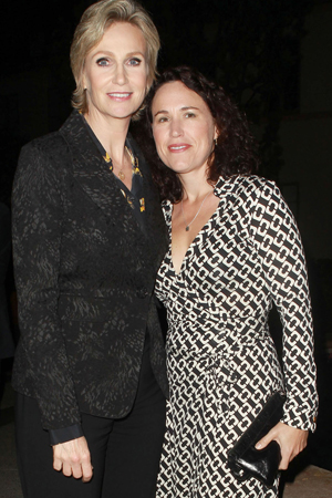 Jane Lynch and Dr. Lara Embry
