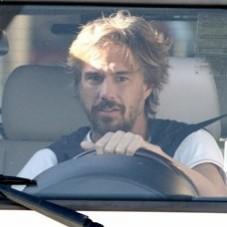 Jason Trawick driving