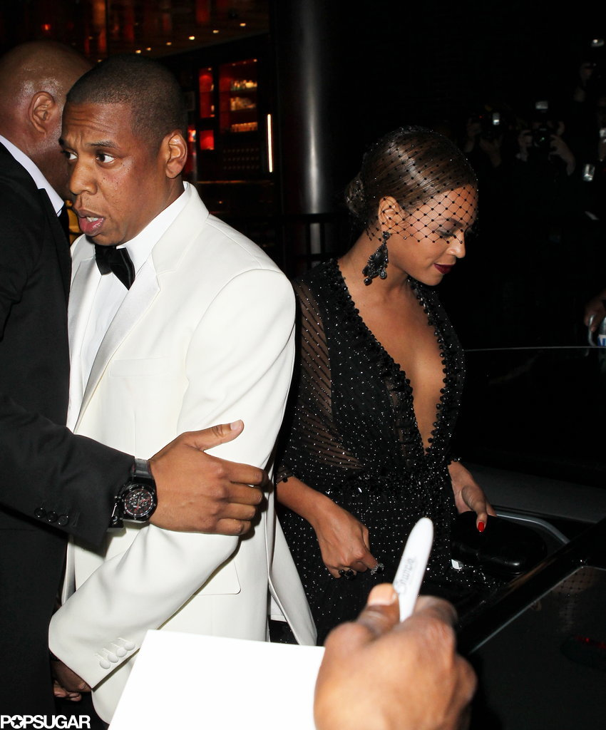 Jay Z and Beyonce at the Met Gala
