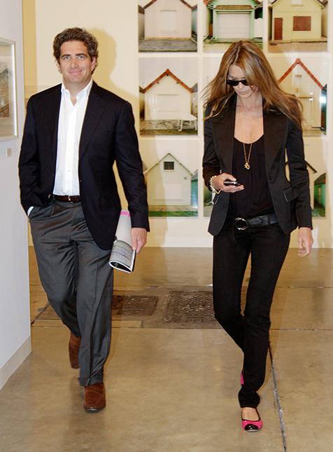 Jeffrey Soffer and Elle Macpherson