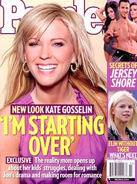 Kate Gosselin and her hair extensions