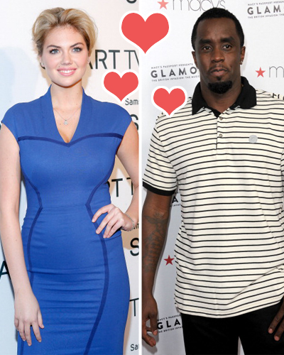 Kate Upton and P. Diddy