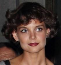 Katie Holmes' hair
