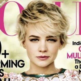 Carey Mulligan on October Vogue