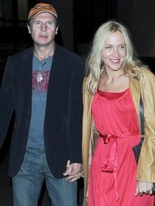 Liam Neeson and Freya St Johnston