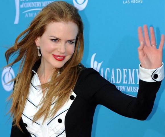 Nicole Kidman tux dress