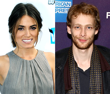 Nikki Reed and Johnny Lewis