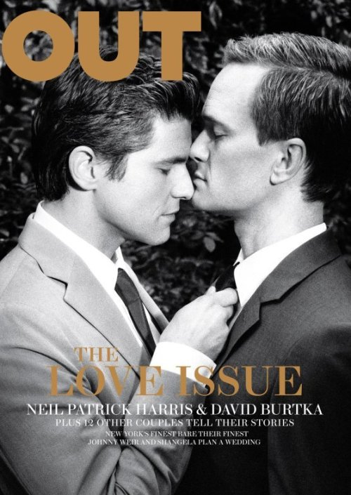 Neil Patrick Harris and David Burtka on Out
