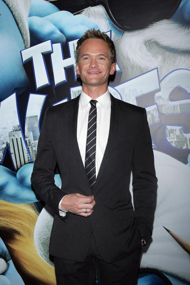 Neil Patrick Harris at Smurfs premiere