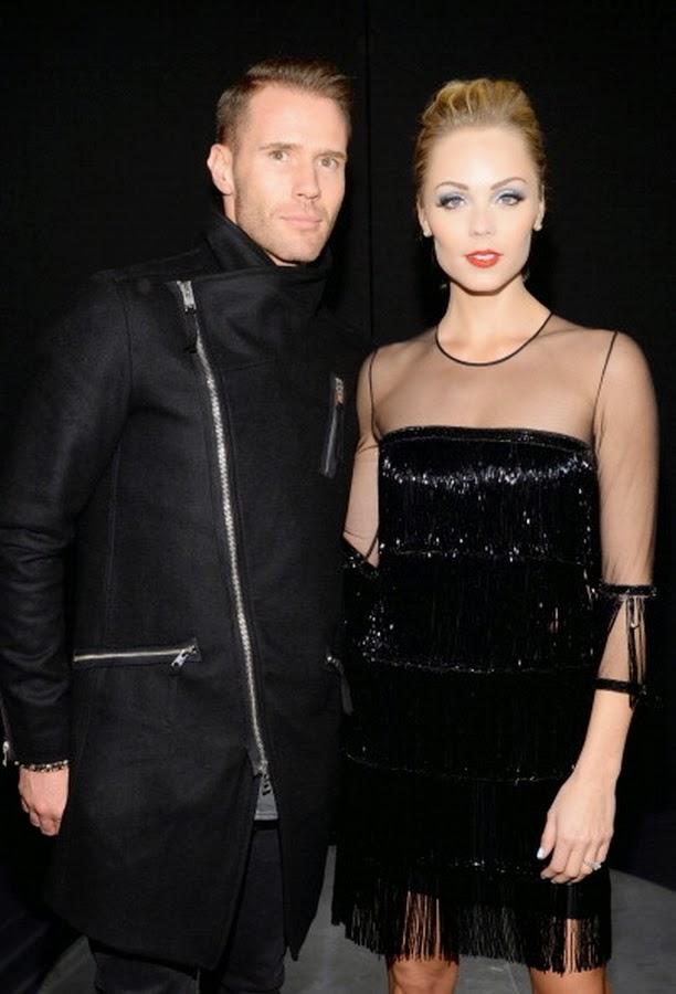 Oliver Trevena and Laura Vandervoort