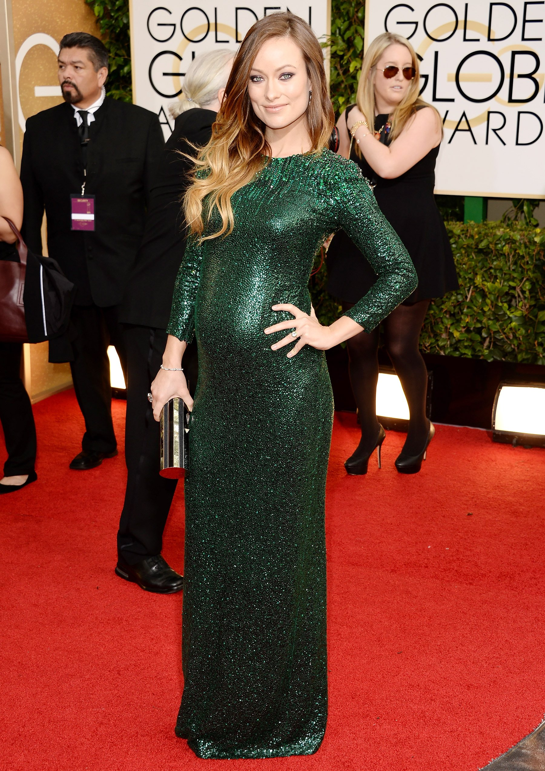 Olivia Wilde at this year's Golden Globe Awards