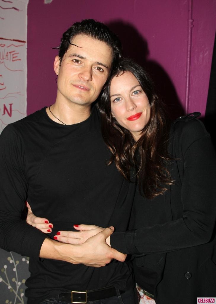 Orlando Bloom and Liv Tyler