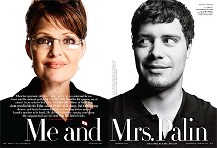 Sarah Palin and Levi Johnston