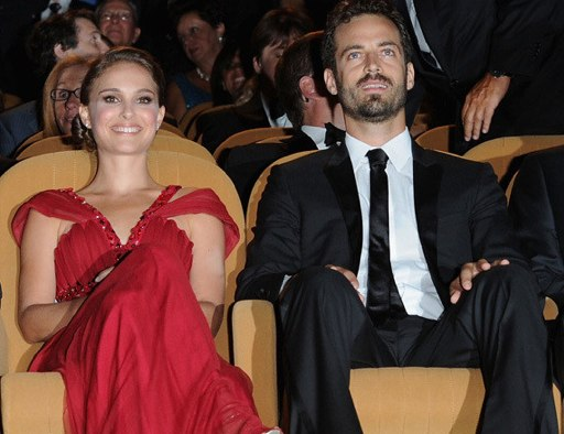 Natalie Portman and Benjamin Millipied