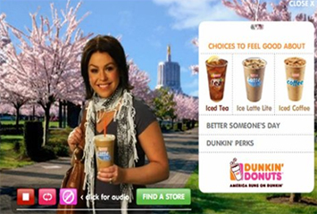 Rachael Ray's infamous Dunkin' Donut ad
