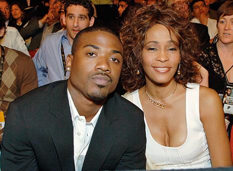 Ray J and Whitney Houston