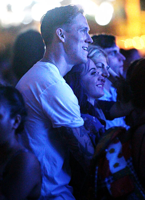Robert Ackroyd and Katy Perry at Coachella