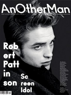 Robert Pattinson on the cover of AnOther Man