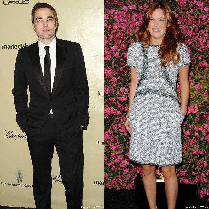 Robert Pattinson and Riley Keough
