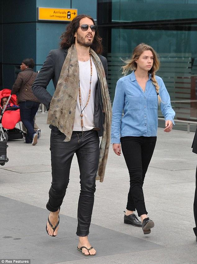 Russell Brand and Alessandra Balazs