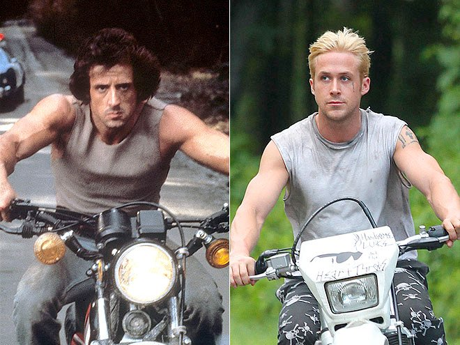 Rambo and Ryan Gosling