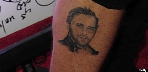 Ryan Cabrera's Gosling tattoo