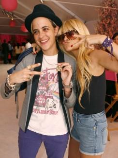 Samantha and Lindsay