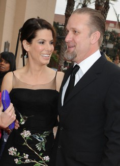 Sandra Bullock and Jesse James during happier times